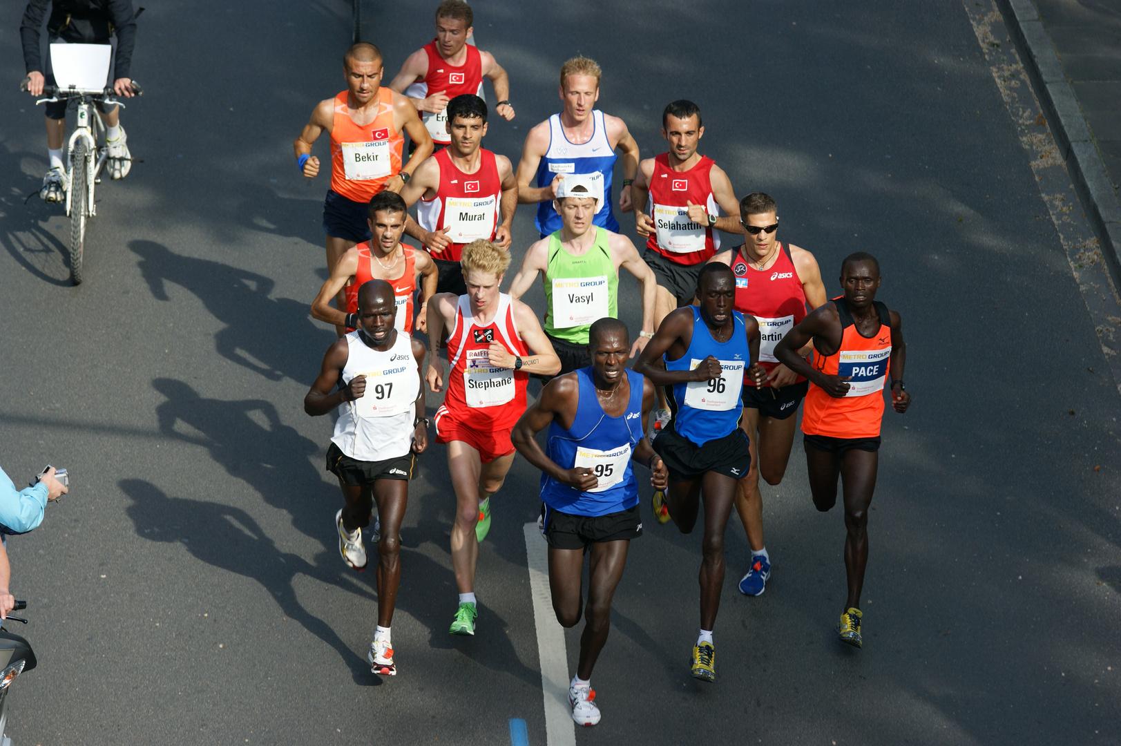 Spitzengruppe Düsseldorf Marathon 2011