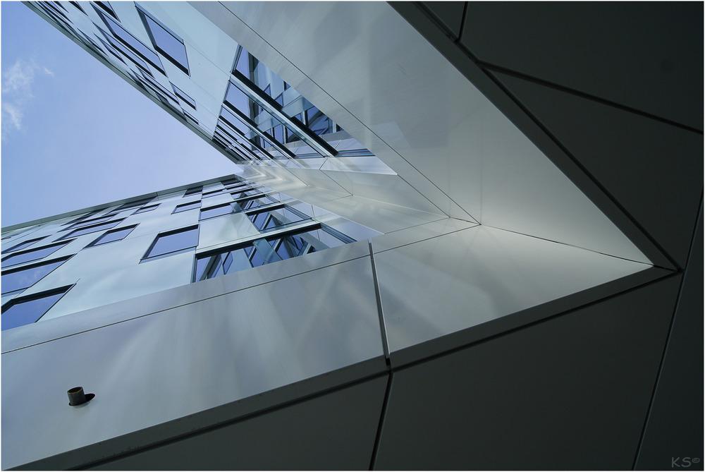Spitzer Winkel Foto Bild Architektur Fassaden Architektonische