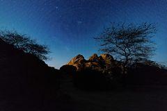 Spitzkoppe, Namibia, die drei Zinnen...