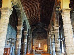 splendide eglise romane de vernazza