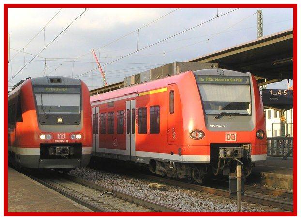SPNV trifft sich im Bhf Graben-Neudorf