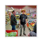 spontaneous double Portrait in a Supermarket (IJzendijke)