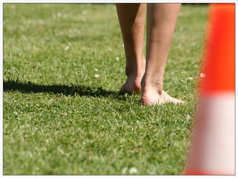 Sport im Grünen