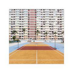 Sport mit Aussicht: Choi Hung Estate