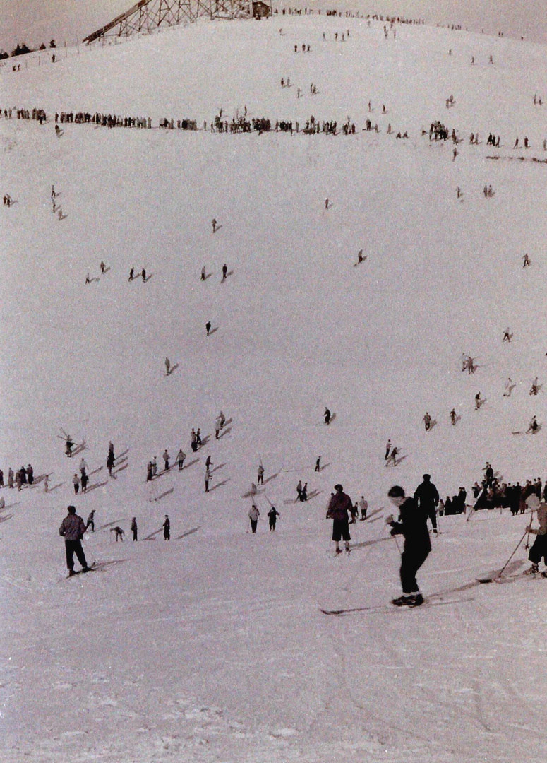 Sports d'hiver vers 1950 1950 (3)