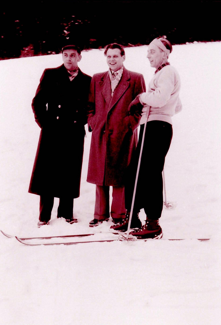 Sports d'hiver vers 1950 (5)