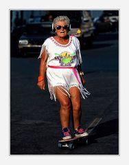 Sporty Grandma