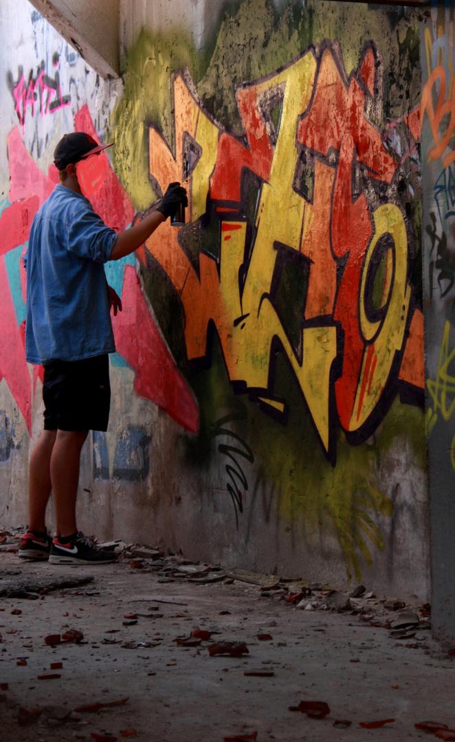 Sprayer @work