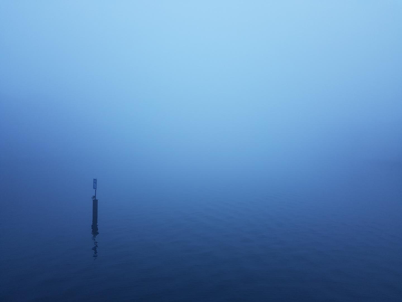 Spree im Nebel
