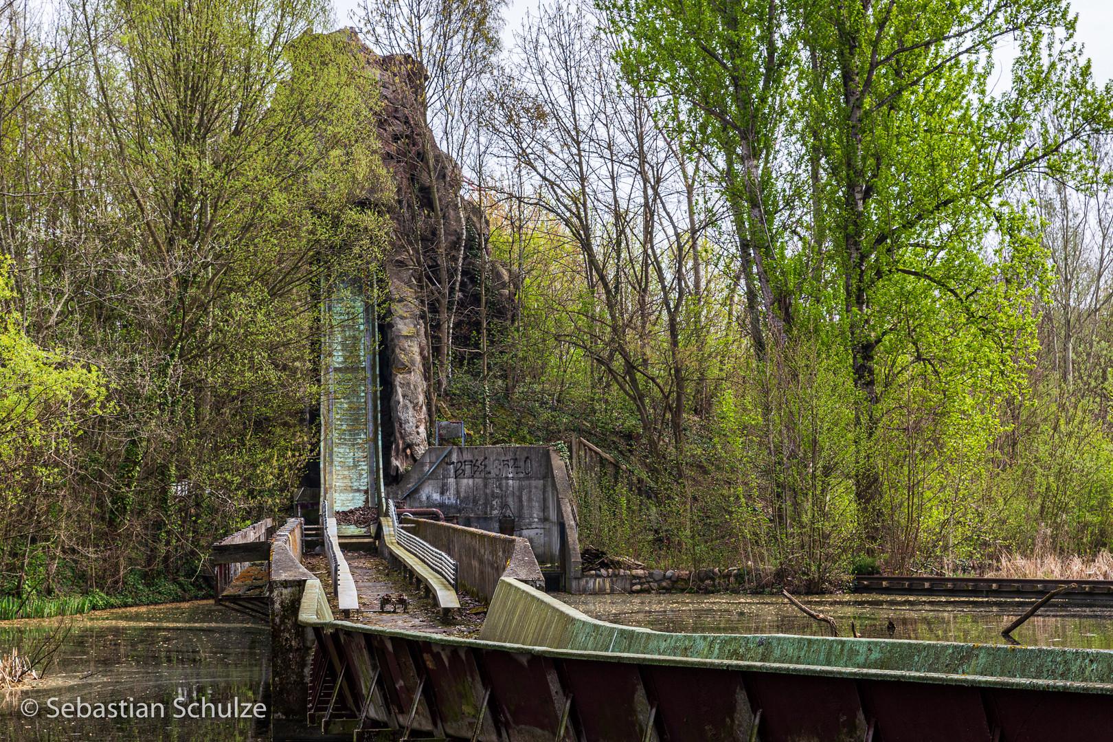 Spreepark - alte Wildwasserbahn