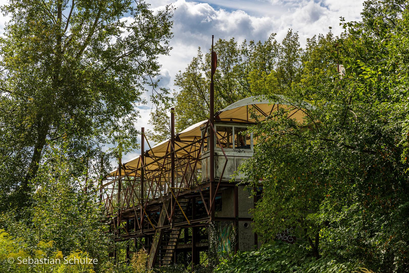 Spreepark - die alte Achterbahn
