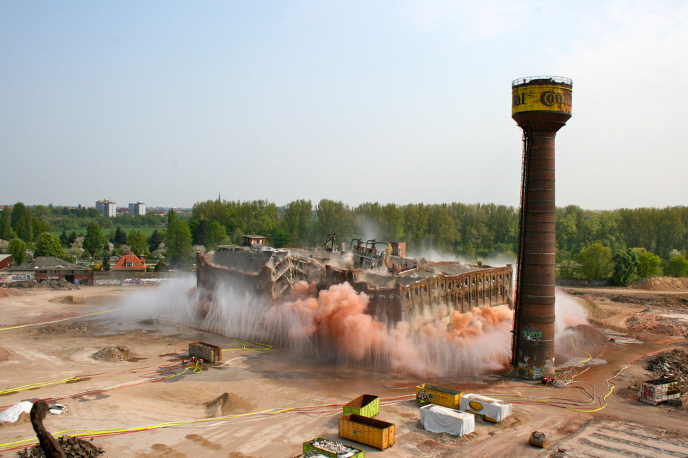 Sprengung Contigelände Hannover Limmer