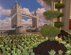 """Spring in London"" flower show in Oldenburg, Germany"