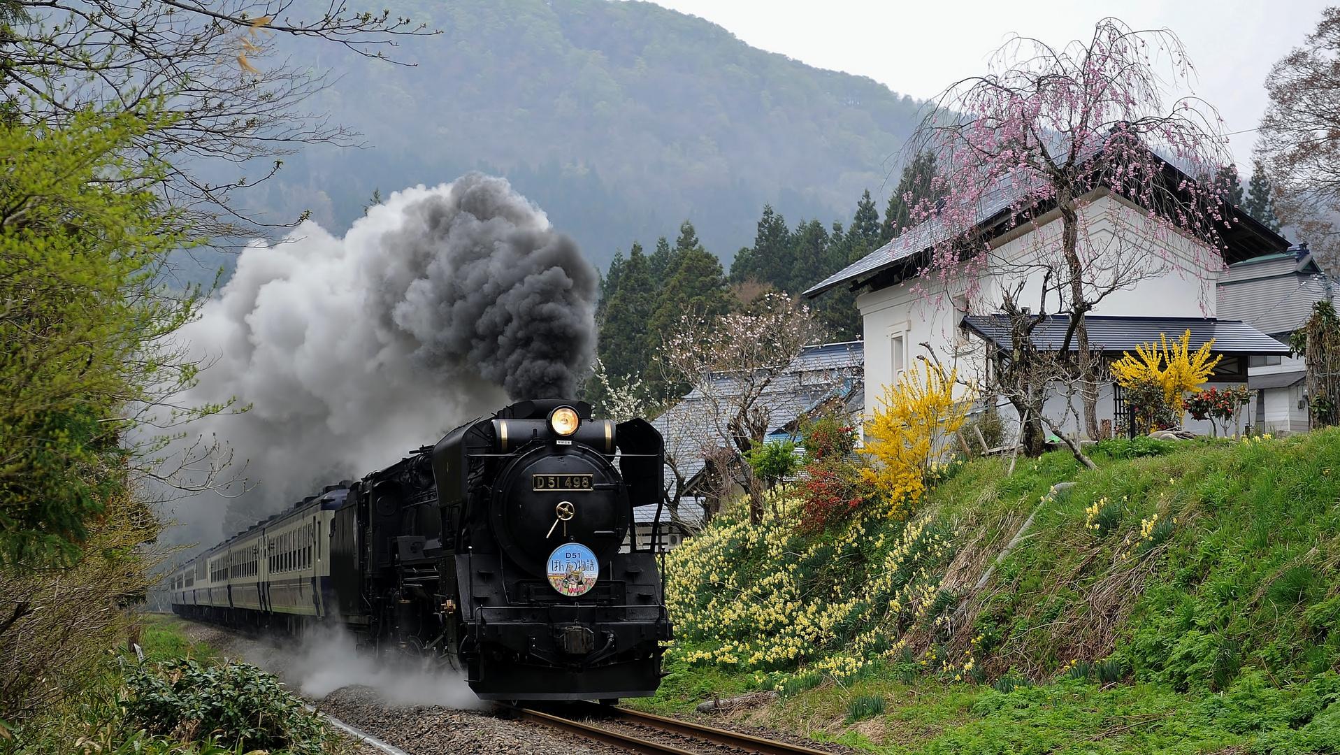 Spring of a mountain village