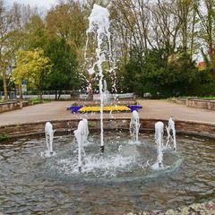Springbrunnen im Stadtgarten Gelsenkirchen