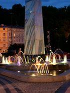 Springbrunnen in Karlovy Vary.
