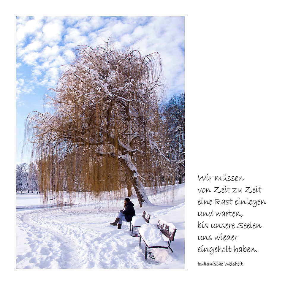 Spruch zum Mittwoch (03/13)