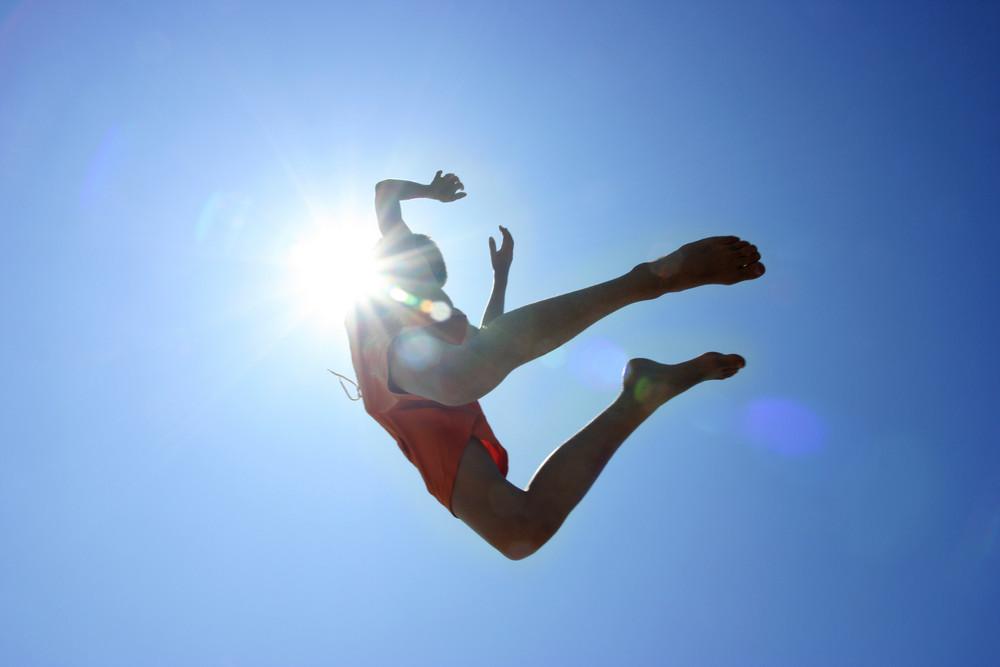 Sprung zur Sonne