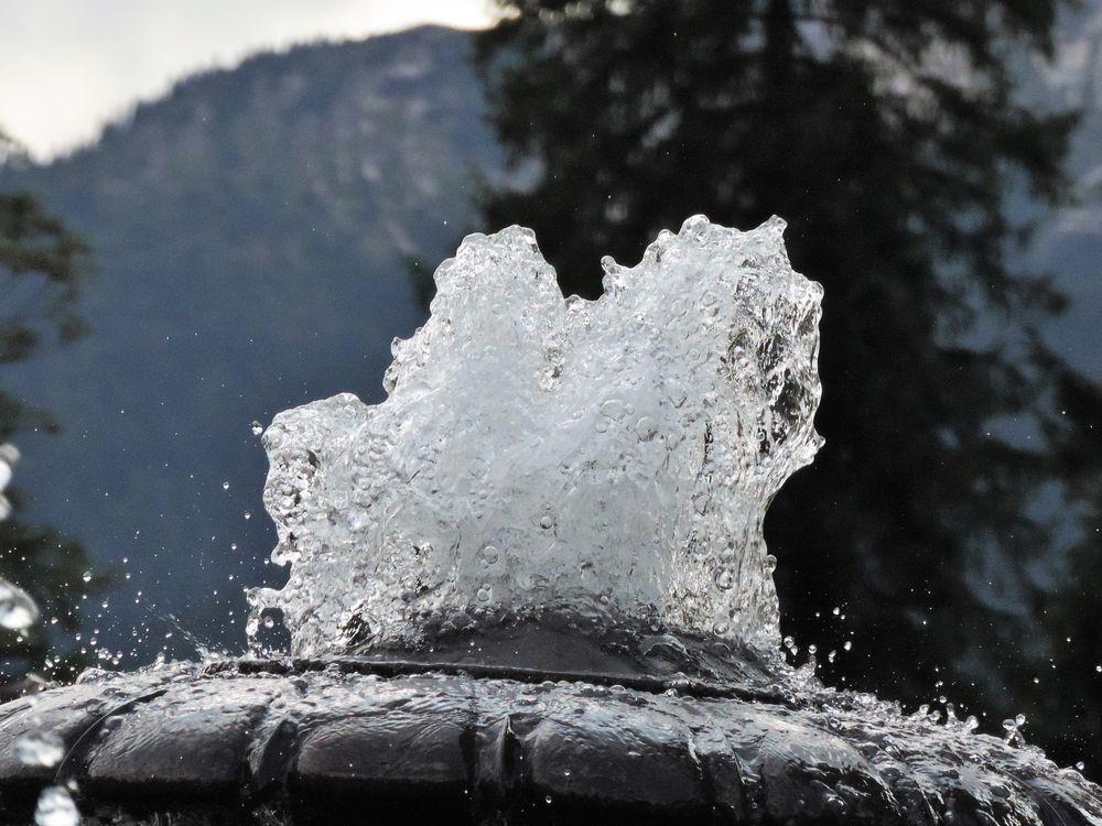 Spuma d'acqua