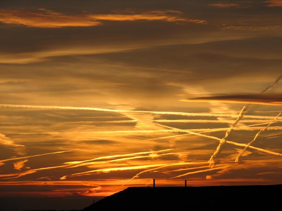 Spuren im Himmel