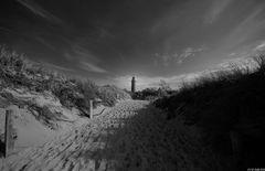 ... Spuren im Sand ...