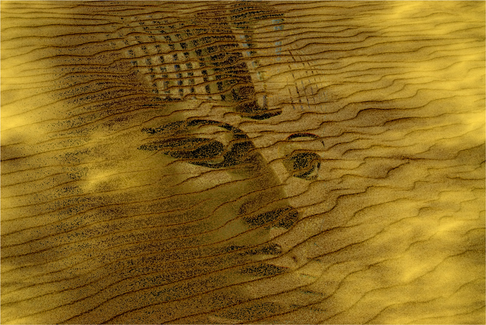 Spuren im Sand..........