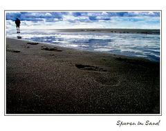Spuren im Sand ...