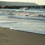 Spurensuche am Strand, ....