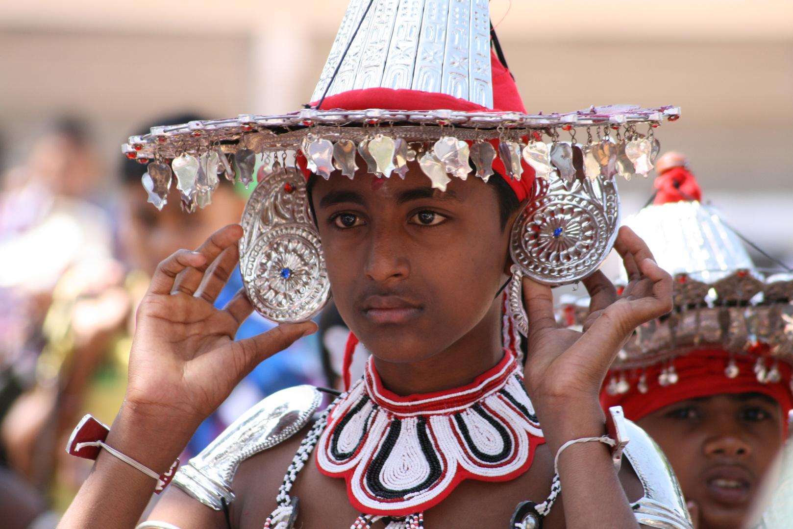 Sri Lanka - Traditioneller Tänzer