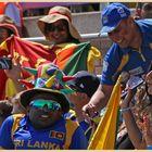 sri lankan fans 2 at the riverside ground
