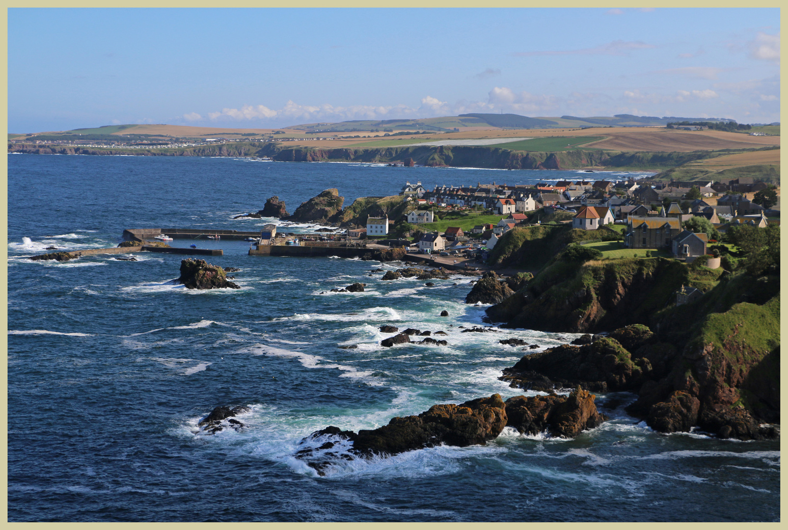 St Abbs from Bell Hill 2A