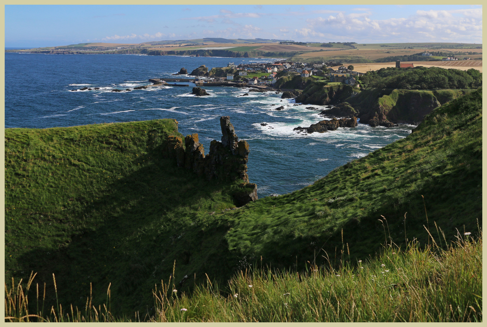 St Abbs from bell Hill 5