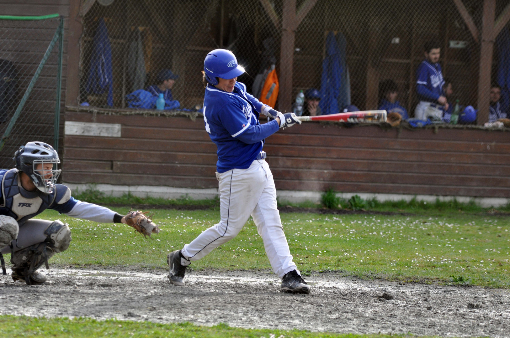 st aubin -médoc vs eysines raiders (baseball )