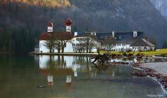 St. Bartholomä am Königssee im Berchtesgadener Land
