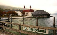 St. Bartholomä im Herbst,