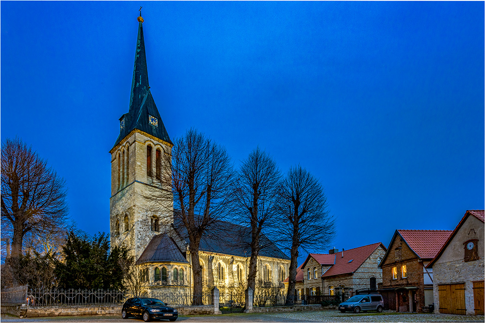 St. Bonifatius Kirche zu Ditfurt