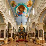 St. Boris und Gleb Kathedrale in Daugavpils, Lettland.