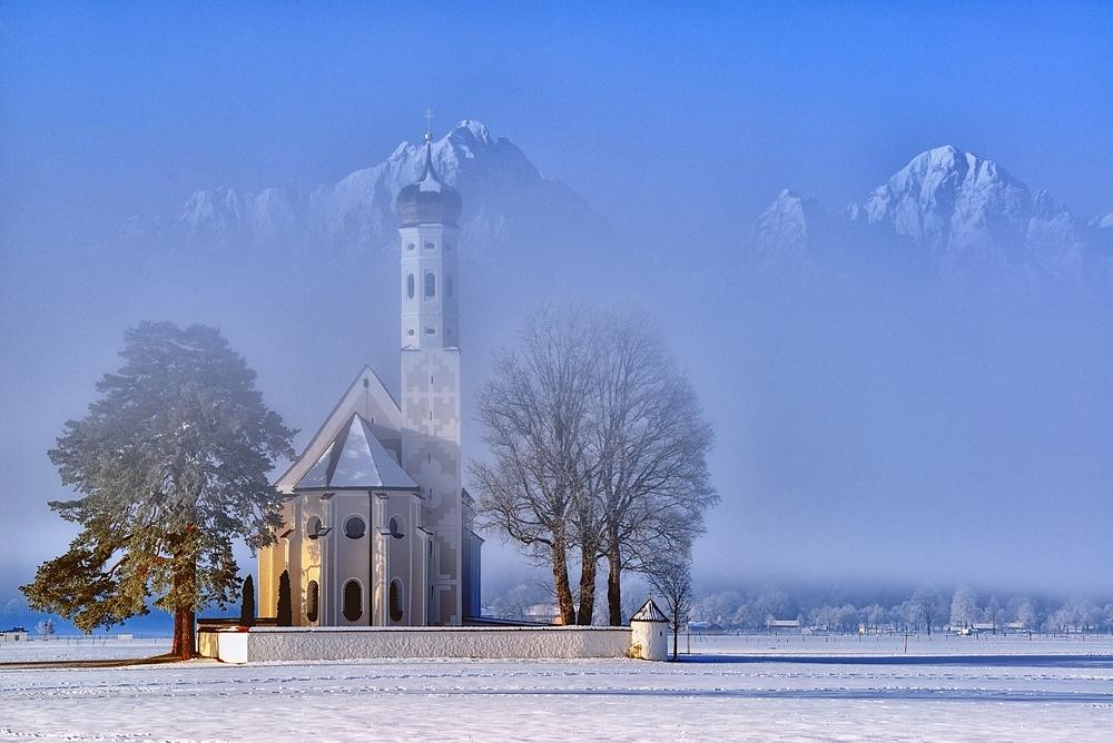 St. Coloman im Nebelkleid II
