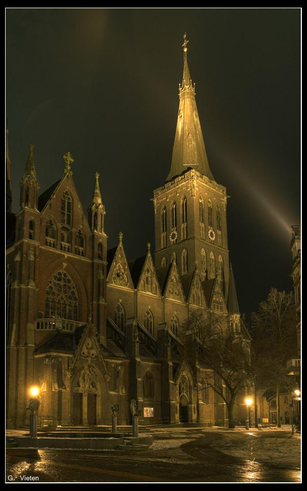 St. Cornelius by night