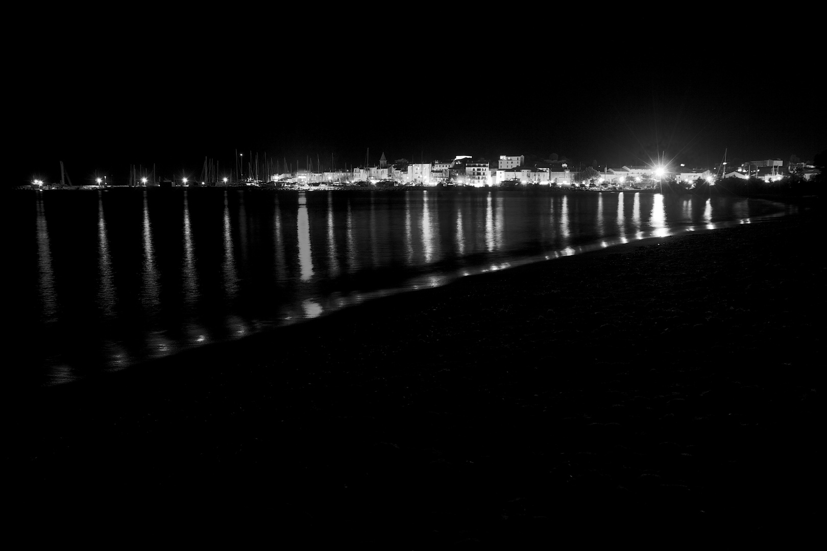 St. Florent by night