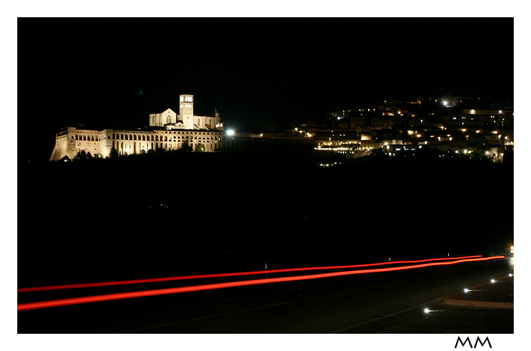 St. Francesco Church in the night