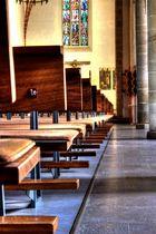 St. Georg Kirche - Weg nach vorne