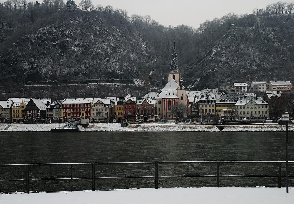 St. Goar - Kleinstädtchen am Mittelrhein