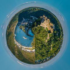 St. Goar mit Festung Rheinfels (11)-little planet