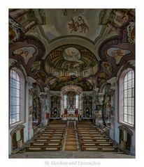 """st.  Gordian und Epimachus (Stöttwang) """" Gott zu Gefallen...."""""""