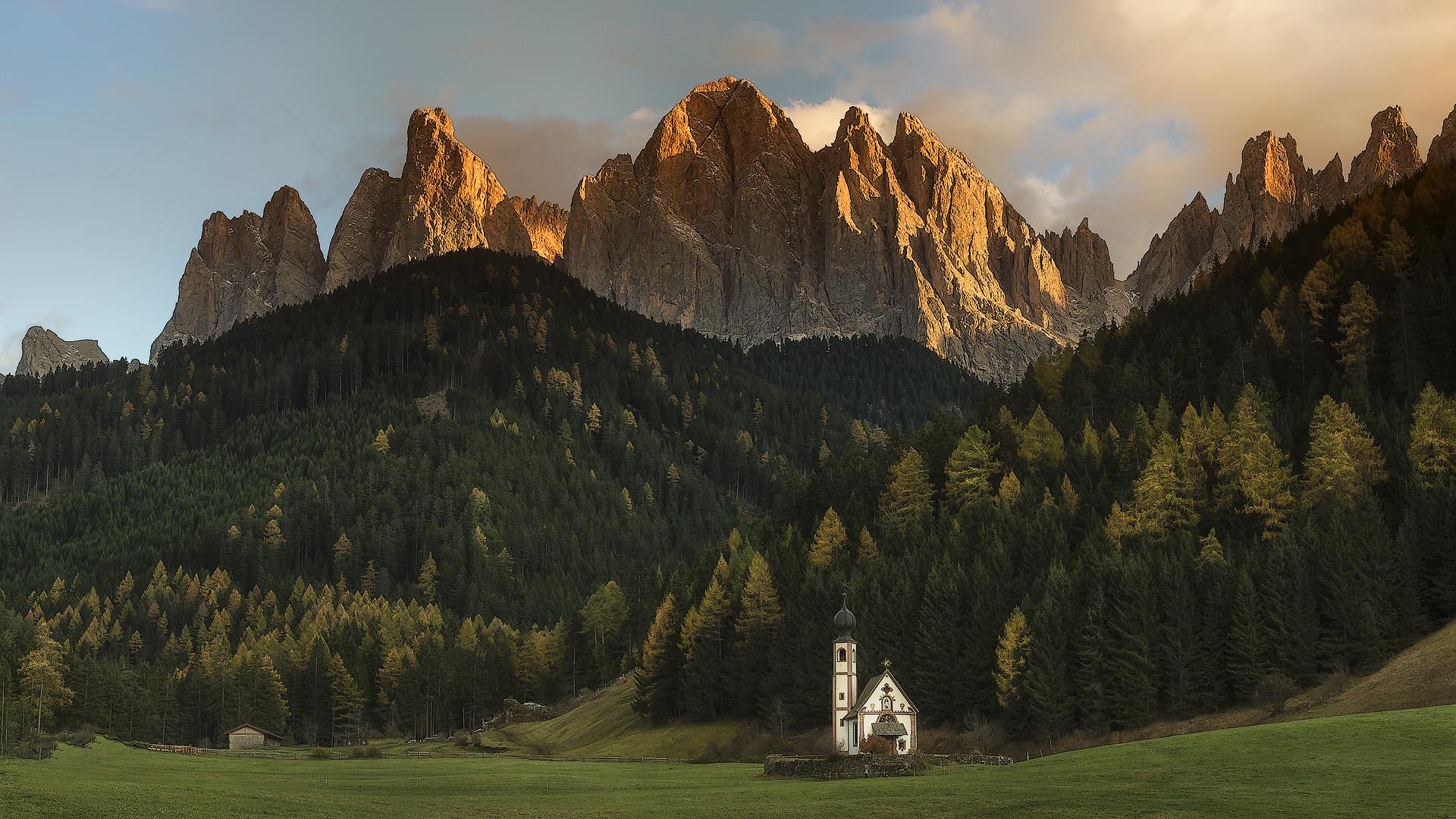 St. Johann in Ranui - Geißlerspitzen - Villnößtal - Südtirol