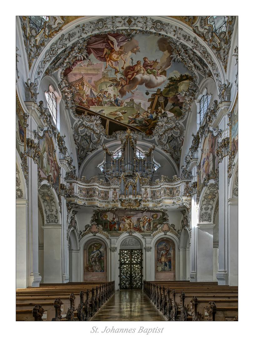 "St. Johannes Baptist -Steingaden "" Gott zu Gefallen..."""
