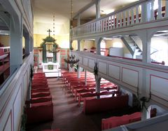 St. Johanniskirche, Hohe Kirche genannt, im Lemgow (Wendland)