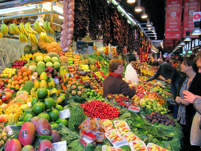 St. Josep Markt in Barcelona