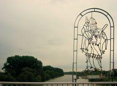St. Kilian auf der Fußgangerbrücke